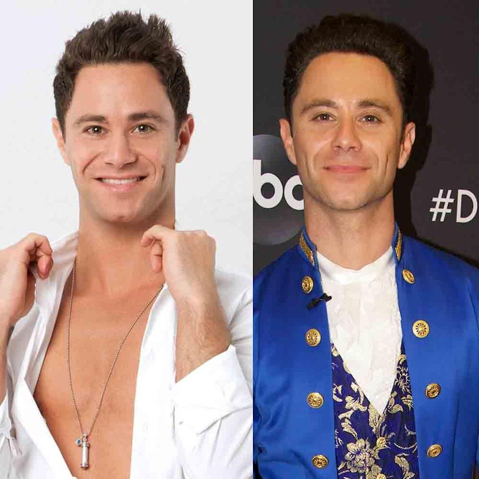 <p>Sasha has been back and forth from the <em>DWTS </em>troupe to pro status since season 14. He's been back as a pro for the last few seasons. (He's also married to fellow pro Emma Slater!)</p>