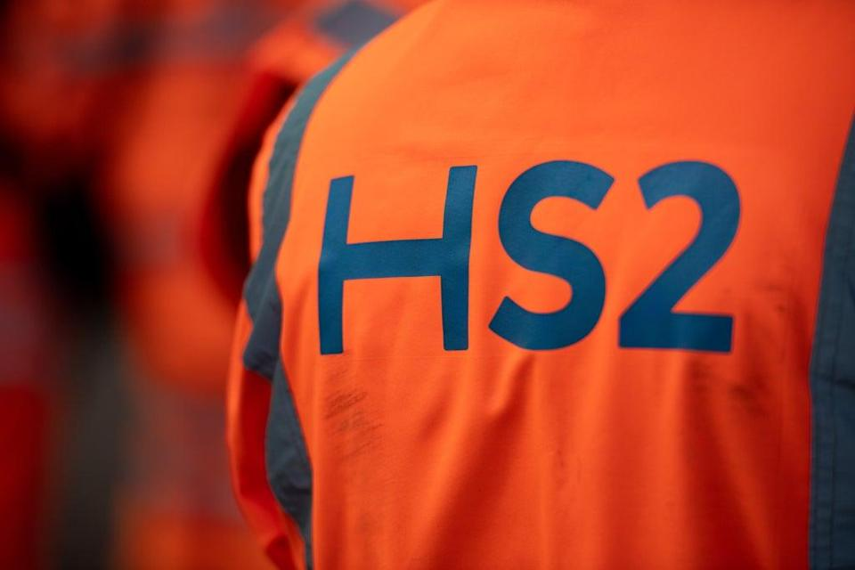 Costain has contracts to work on HS2 (Jacob King/PA) (PA Wire)