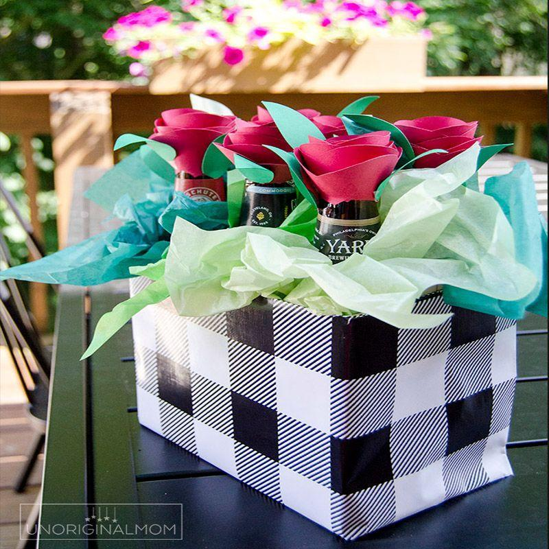 "<p>A colorful way to gift him exactly what he needs for the next time he wants to sit back and relax in his man cave.</p><p><em>Get the tutorial at <a href=""https://www.unoriginalmom.com/beer-bouquet-tutorial-beer-gift-idea-for-men/"" rel=""nofollow noopener"" target=""_blank"" data-ylk=""slk:Unoriginal Mom"" class=""link rapid-noclick-resp"">Unoriginal Mom</a>.</em></p><p><strong>RELATED:</strong> <a href=""https://www.womansday.com/life/g3235/beer-gifts/"" rel=""nofollow noopener"" target=""_blank"" data-ylk=""slk:35 Best Beer Gifts to Give Dad for Father's Day"" class=""link rapid-noclick-resp"">35 Best Beer Gifts to Give Dad for Father's Day</a><br></p>"
