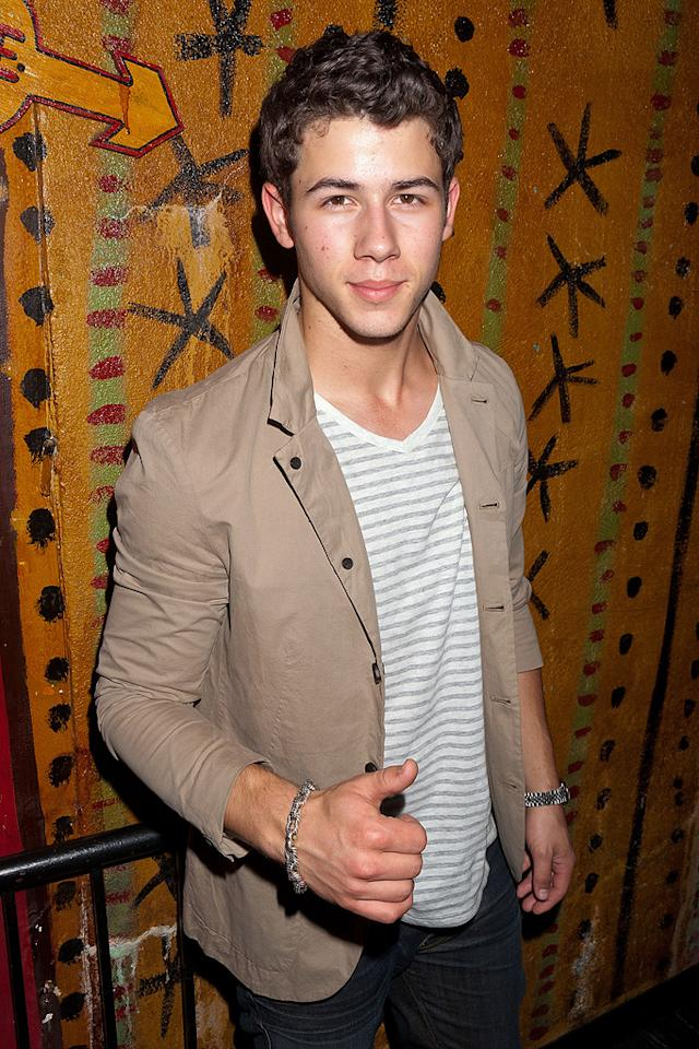 "Singer/actor Nick Jonas turns 19. Imeh Akpanudosen/<a href=""http://www.gettyimages.com/"" target=""new"">GettyImages.com</a> - August 27, 2011"