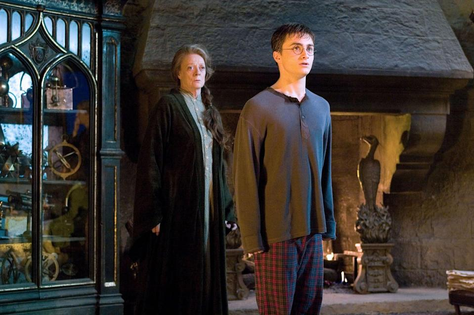 """<p><strong>HBO Max's Description:</strong> """"Now in his fifth year at Hogwarts, Harry learns many in the wizarding community do not know the truth of his encounter with Lord Voldemort. Cornelius Fudge, minister of Magic, appoints his toady, Dolores Umbridge, as Defense Against the Dark Arts teacher, for he fears that professor Dumbledore will take his job. But her teaching is deficient and her methods, cruel, so Harry prepares a group of students to defend the school against a rising tide of evil.""""</p> <p><a href=""""https://play.hbomax.com/feature/urn:hbo:feature:GXssPaAiBJ1VGwwEAAABW"""" class=""""link rapid-noclick-resp"""" rel=""""nofollow noopener"""" target=""""_blank"""" data-ylk=""""slk:Watch Harry Potter and the Order of the Phoenix (rated PG-13) on HBO Max"""">Watch <strong>Harry Potter and the Order of the Phoenix</strong> (rated PG-13) on HBO Max</a> before it leaves the service in September.</p>"""