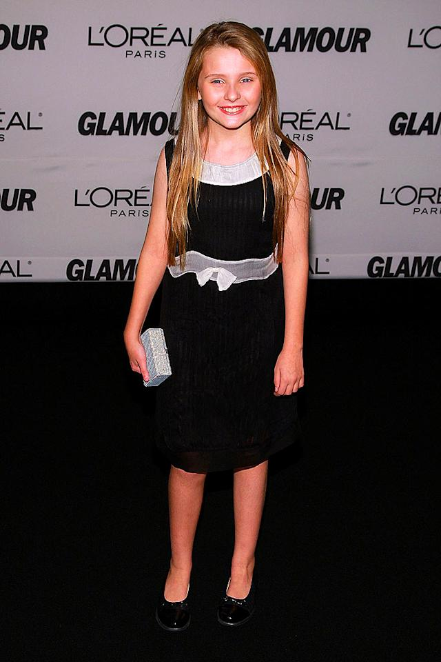 """At 11 years old, Abigail Breslin isn't quite a woman yet, but she was named one of Glamour's """"Women of the Year."""" Afterall the Oscar-nominated actress has accomplished more in her young life than most of us can ever dream of! Dimitrios Kambouris/<a href=""""http://www.wireimage.com"""" target=""""new"""">WireImage.com</a> - November 5, 2007"""