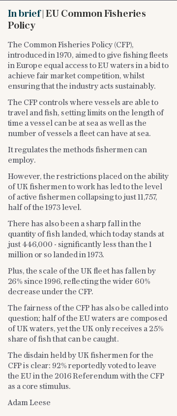 In brief   EU Common Fisheries Policy