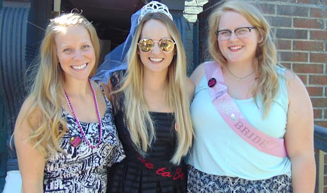 <i>From left to right:</i> Courtney, Sara and Shelby.