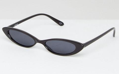 ASOS DESIGN Small Cat Eye Sunglasses - Credit: ASOS