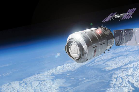 Private Cygnus Cargo Ship Aborts First Space Station Approach