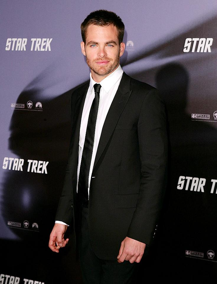 """Wolverine"" wasn't the only upcoming blockbuster that premiered down under. Chris Pine and the rest of the ""Star Trek"" crew boldly hit the red carpet at the Sydney Opera House on Tuesday. Don Arnold/<a href=""http://www.wireimage.com"" target=""new"">WireImage.com</a> - April 7, 2009"