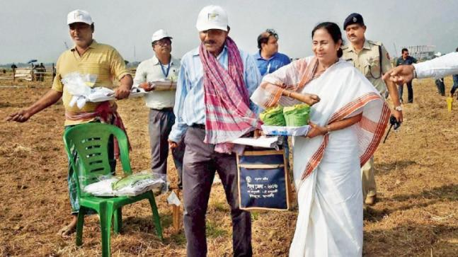 Singur, created history with an anti-land acquisition movement against the proposed factory for Tata Nano, was spearheaded by the then ruling party chief Mamata Banerjee, which shot her to fame of being a crusader for farmers' rights and then brought her TMC party to power in the 2011 Assembly elections.
