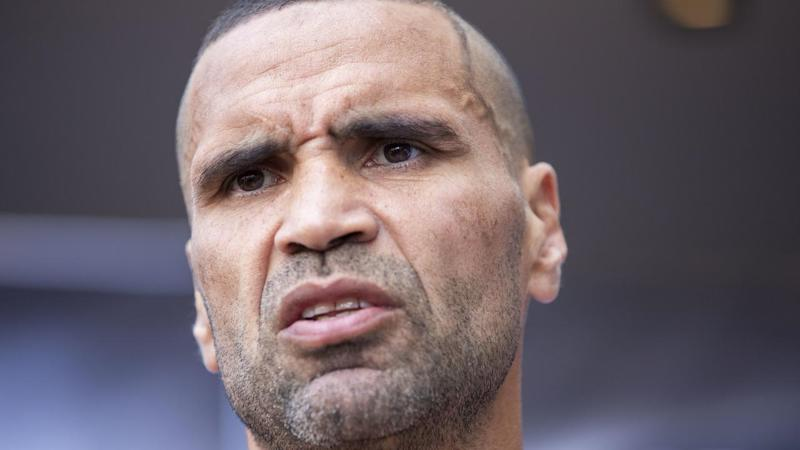 BOXING MUNDINE PARR WEIGH IN