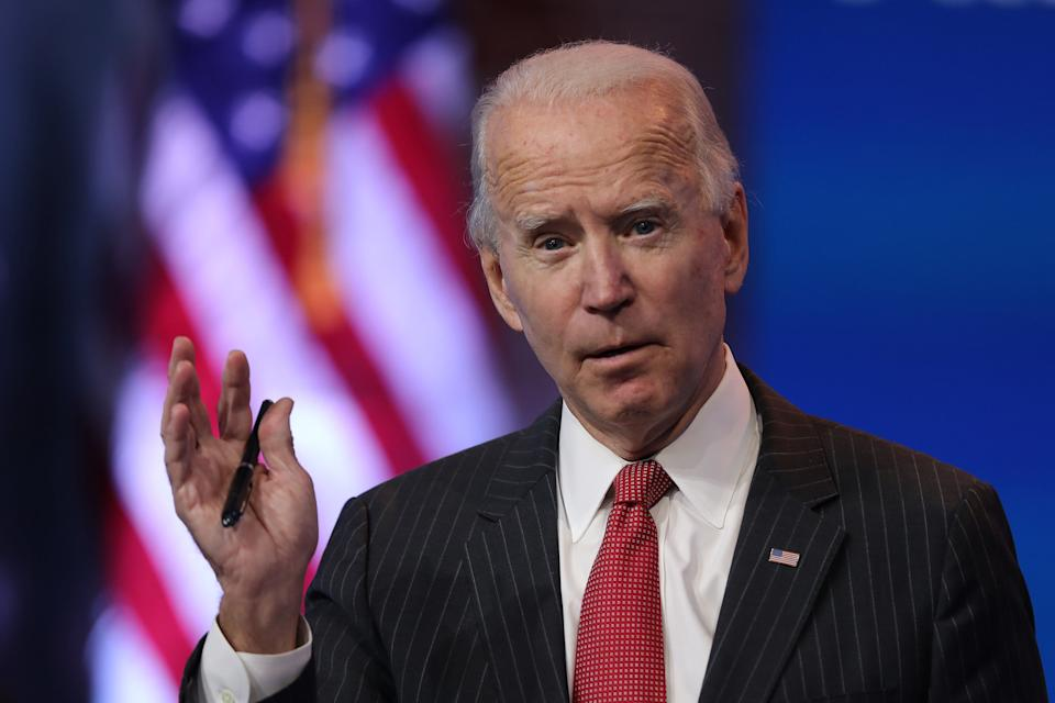 <p>Joe Biden will take office in January</p>Getty Images
