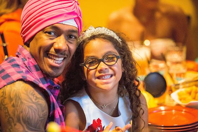 Nick Cannon with daughter Monroe (Photo: Getty Images)