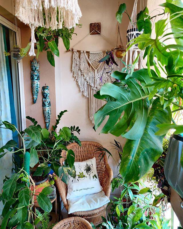 """<p>At the top of the list is <a href=""""https://www.housebeautiful.com/uk/garden/designs/how-to/a781/balcony-garden-guide/"""" rel=""""nofollow noopener"""" target=""""_blank"""" data-ylk=""""slk:balcony gardening"""" class=""""link rapid-noclick-resp"""">balcony gardening</a>, with more than 96,817 Instagram posts. For 2021, we'll see more city-dwellers turning their balconies into urban jungles with comfy furnishings, glorious plants, and accessories. </p><p>The team advise: 'The plants you'll need will depend on your chosen look, but by opting for the likes of jasmine, lavender, foxglove, bamboo, eucalyptus, snake plants, and peace lilies, you can't go wrong.'</p><p><a href=""""https://www.instagram.com/p/CDGNRDPpXNb/"""" rel=""""nofollow noopener"""" target=""""_blank"""" data-ylk=""""slk:See the original post on Instagram"""" class=""""link rapid-noclick-resp"""">See the original post on Instagram</a></p>"""