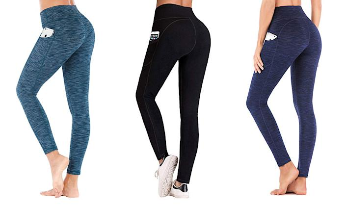 Iuga's High Waist Yoga Pants are a best-seller at Amazon with over 1,700 reviews (Photo: Amazon)