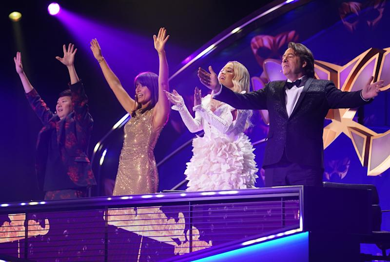 Judges Ken Jeong, Davina McCall, Rita Ora and Jonathan Ross loved the final performances (Bandicoot TV/ITV)