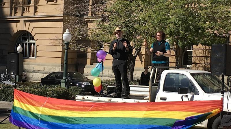 Brisbane priest Dr Peter Catt has called on politicians to get on with the job of marriage equality.