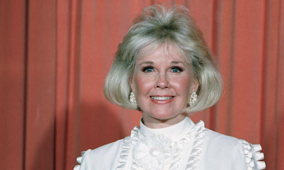 """Hollywood icon Doris Day <a href=""""https://uk.movies.yahoo.com/hollywood-icon-doris-day-has-died-aged-97-131433501.html"""" data-ylk=""""slk:died in May this year;outcm:mb_qualified_link;_E:mb_qualified_link;ct:story;"""" class=""""link rapid-noclick-resp yahoo-link"""">died in May this year</a> at the age of 97. Fondly remembered for her roles in films like <em>Calamity Jane</em> and <em>The Man Who Knew Too Much</em>, Day had left films behind her in the 60s to focus on her animal foundation. (AP Photo, File)"""