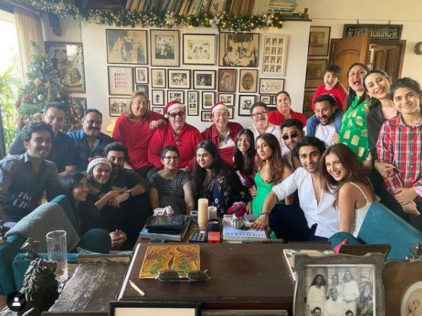 Christmas celebrations at Kapoor's (Image Source: Instagram)