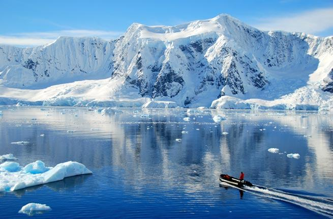 """<p><strong>Where:</strong> Antarctica</p>  <p></p>  <p>According to NASA, the frozen continent of Antarctica is thawing. While it may be some time until it """"melts"""" away, efforts are in place to minimize the environmental impact of tourism. Cruise ships carrying more than 500 passengers are no longer allowed to sail the straits. Some stricter limitations are on the docket from the International Association of Antarctic Tour Operators, an organization devoted to promoting safe, responsible tourism. Book a cruise through for an eco-friendly journey. Go while it's still there to see incredible wildlife sightings, immense ice shelves, and outstanding mountain ranges.</p>"""