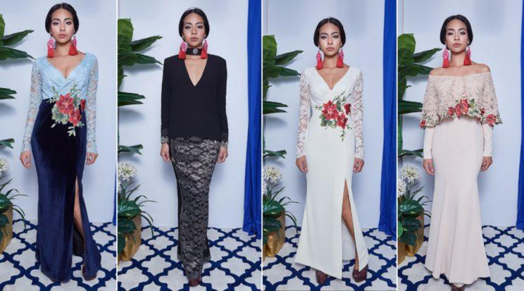 A Singaporean fashion designer has been experiencing backlash for her latest Hari Raya fashion collection after many called it out on social media for being too sexy for the festive occasion, which will be happening on 25 June this year. (Photo: FatimahMohsin.com)