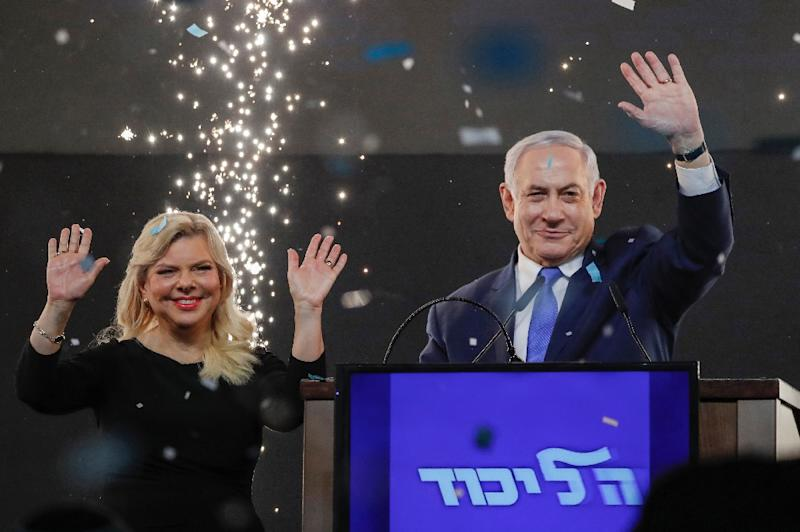 Critics of Israeli Prime Minister Benjamin Netanyahu and his wife Sara say the couple's lifestyle is a combination of luxury and pathological stinginess (AFP Photo/Thomas COEX)
