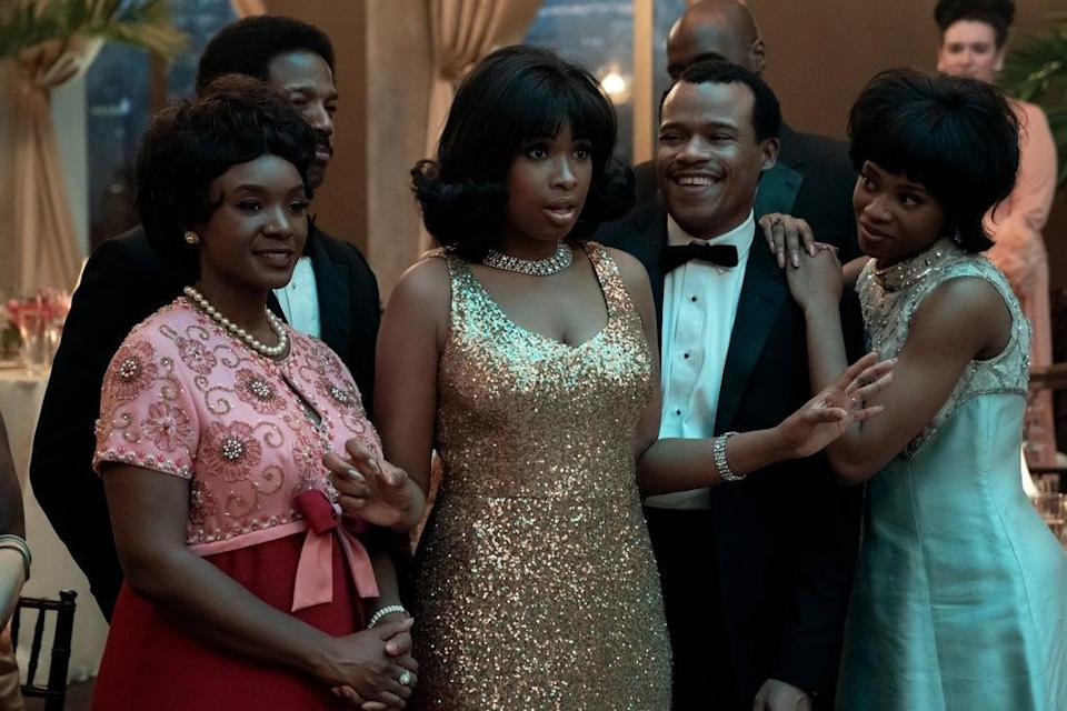 Film still from Respect, in which Jennifer Hudson stars as Aretha Franklin (PA Photo/© 2020 Metro-Goldwyn-Mayer Pictures Inc. All Rights Reserved.)