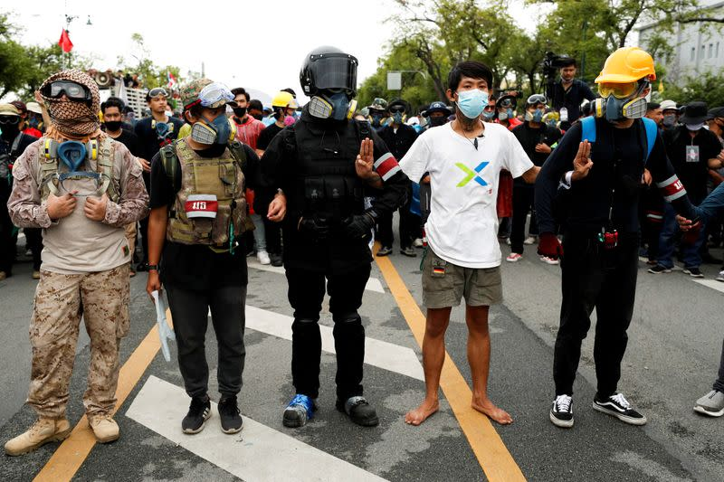 Timeline: Thailand's growing protest movement