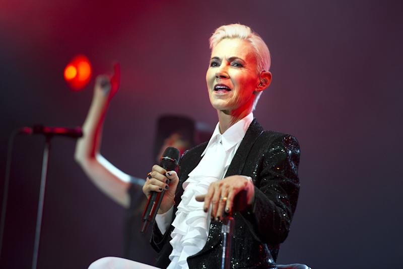 Marie Fredriksson performing live in 2015 (Photo: Action Press/Shutterstock)