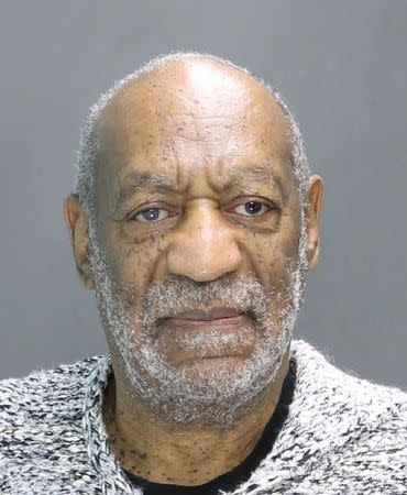Actor and comedian Bill Cosby is pictured in this booking photo provided by Montgomery County District Attorney's Office and taken on December 30, 2015. REUTERS/Montgomery County District Attorney's Office/Handout via Reuters