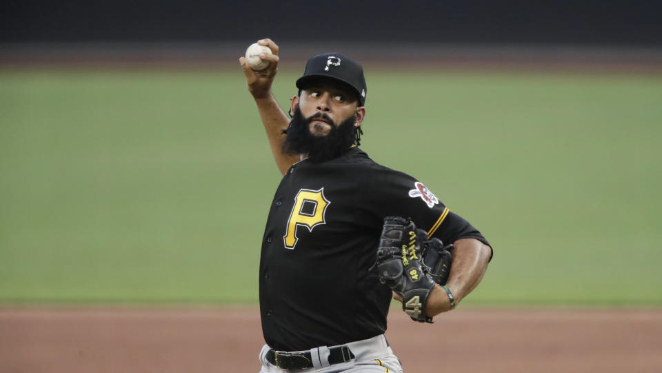 Pittsburgh Pirates pitcher Richard Rodriguez