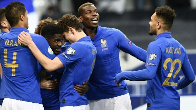 Euro 2020 qualifiers: France thrash Iceland, Ronaldo limps off for Portugal