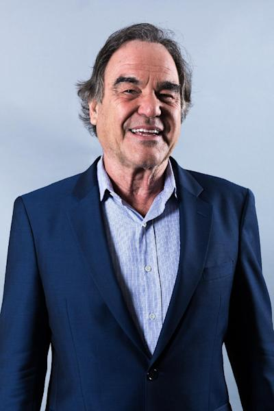"In this Sunday, Aug. 28, 2016, photo, Oliver Stone poses for a portrait in promotion of ""Snowden"" in Los Angeles. (Photo by Willy Sanjuan/Invision/AP)"