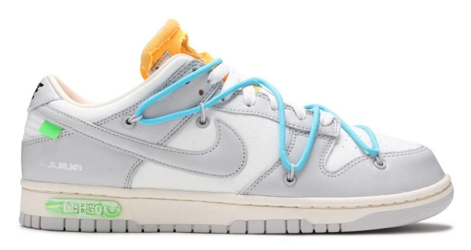 Off White x Nike Dunk Low 2-49