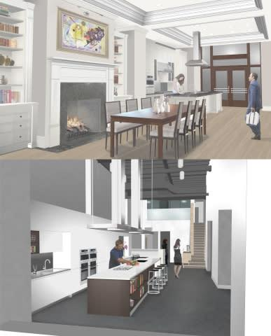 GE's second Monogram(R) Design Center, located at LuxeHome in Chicago's Merchandise Mart, features t ...