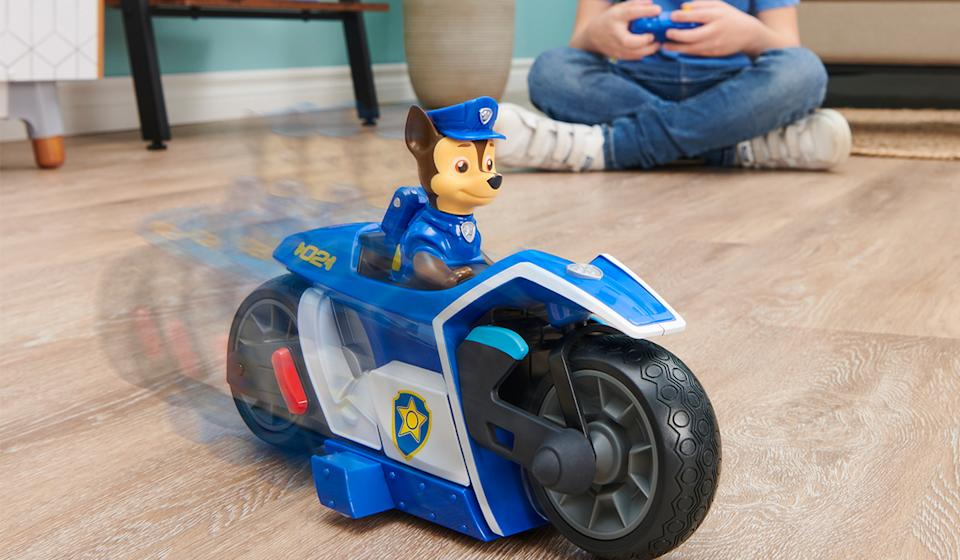 Chase gets a brand new ride from the best name in RC cars (Photo: Walmart)