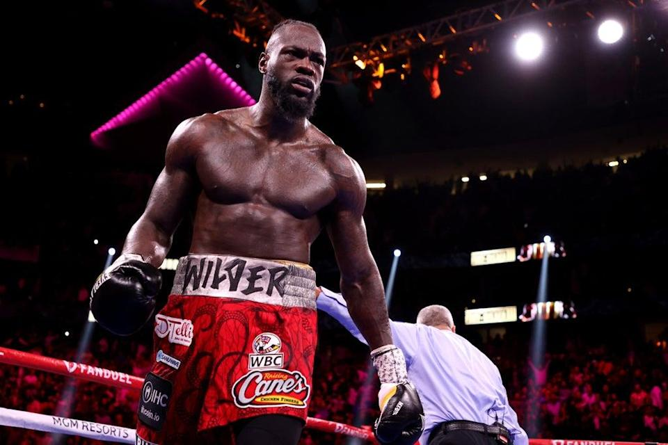Wilder was defeated by Tyson Fury in October  (Getty Images)