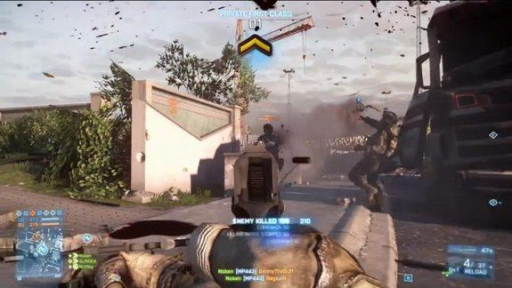 The future of warfare may have kill stats and rewards similar to those in video games such as Battlefield 3.