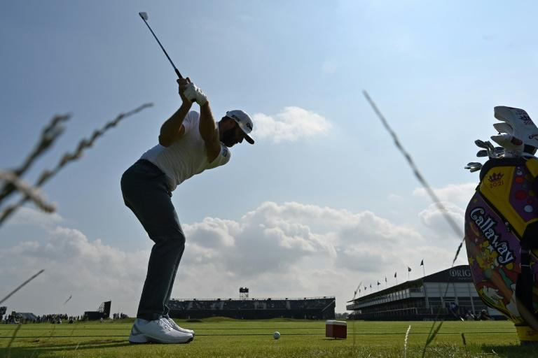 World number one Dustin Johnson is aiming to win his first British Open