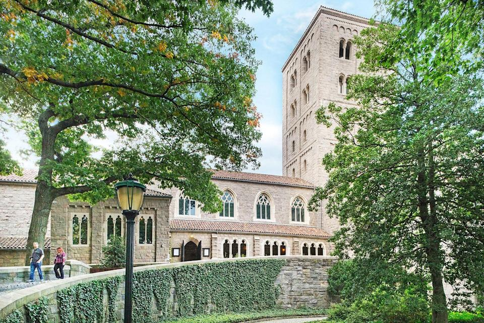 """<p><strong>Zoom out. What's this place all about?</strong><br> Located on four acres in northern Manhattan's Fort Tryon Park, the Met Cloisters is a branch of the <a href=""""https://www.cntraveler.com/activities/new-york/the-metropolitan-museum-of-art?mbid=synd_yahoo_rss"""" rel=""""nofollow noopener"""" target=""""_blank"""" data-ylk=""""slk:Metropolitan Museum of Art"""" class=""""link rapid-noclick-resp"""">Metropolitan Museum of Art</a> dedicated to the art, architecture, and gardens of medieval Europe. It opened in 1938 with the help of John D. Rockefeller, Jr., who purchased the building and land on which the museum resides on behalf of the Met. The building overlooks the Hudson River and actually incorporates five medieval-inspired cloisters into a modern museum structure, creating a historic, contextualized backdrop in which to view the art.</p> <p><strong>The permanent collection: How was it?</strong><br> The Met Cloisters is America's only museum dedicated exclusively to the art and architecture of the Middle Ages. The collection is both impressive and rarefied—it includes more than 2,000 artworks and artifacts (metalwork, painting, sculpture, textiles) from medieval Europe. The museum is even more awe-inspiring for the fact that you can spend a morning in a virtual Middle Age time capsule, and then be surrounded by modern Manhattan skyscrapers by afternoon.</p> <p><strong>What did you make of the crowd?</strong><br> It's a commitment to get uptown to the Cloisters (at least a 30-minute subway ride from Midtown). The upside, however, is that it's far less crowded than the Met on Fifth Avenue, which makes it a pleasant and enjoyable place to visit. The surrounding park only adds to the beauty and peacefulness of the place; chances are you'll forget you're even in New York.</p> <p><strong>On the practical tip, how were the facilities?</strong><br> The building is well laid out and easy to navigate; it's perfectly designed to highlight the art and artifacts.</p> <p><strong>Any guided tou"""