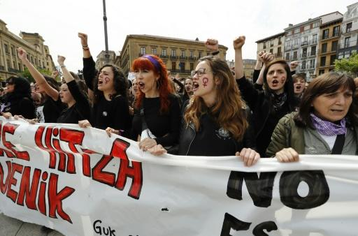 Protests have spread across Spain, with calls to change the law on rape convictions