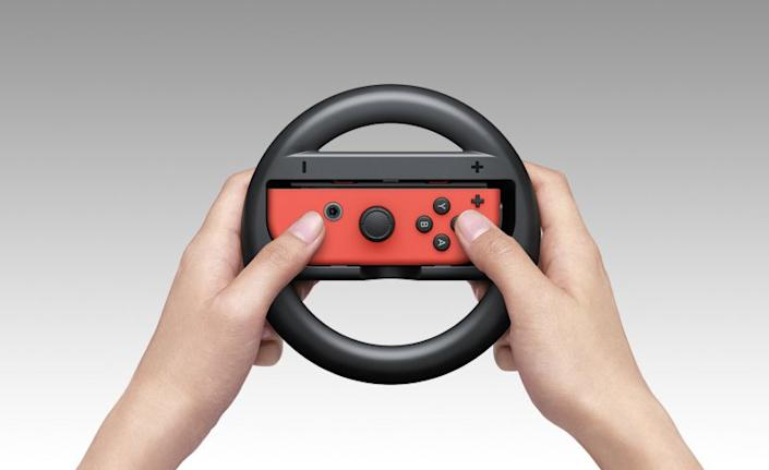 How To Get Two Joy Con Steering Wheels For Mario Kart 8 On