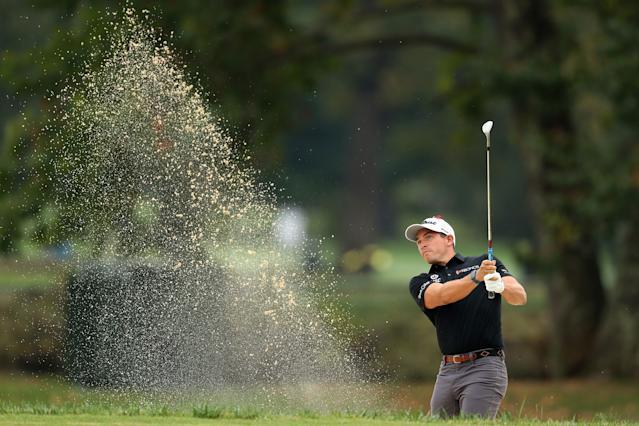 "<div class=""caption""> After a deep dive into his stats, Stallings refocused his efforts in practice around his short game. </div> <cite class=""credit"">Rob Carr/Getty Images</cite>"