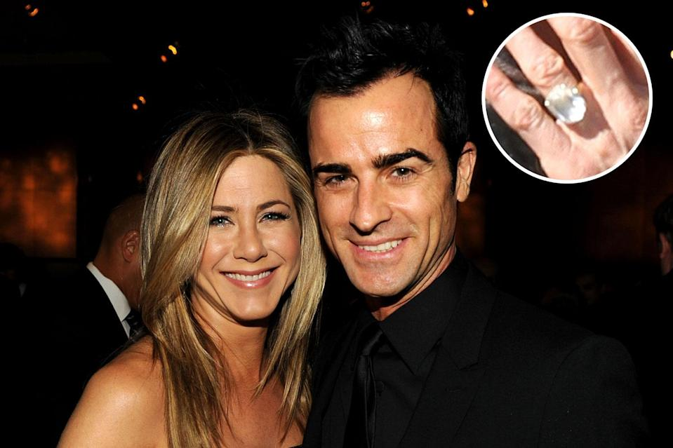 """Jen Aniston and Justin <span class=""""s1"""">Theroux's split broke many hearts.</span> (Photo: Getty Images)"""