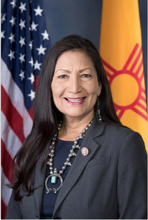 Rep. Debra Haaland, D-N.M., chair of the Subcommittee on National Parks, Forests and Public Lands, questioned National Park Service acting director David Vela on the surge of NPS law enforcement to assist the Border Patrol.
