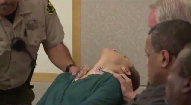 The news was too overwhelming for Lovejoy as she fainted in the court room. Source: Fox5