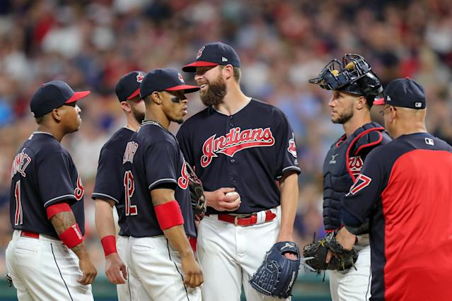 With the Indians willing to deal Corey Kluber, could Francisco Lindor be next? (Photo by Frank Jansky/Icon Sportswire via Getty Images)