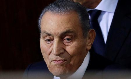 Former Egyptian President Hosni Mubarak Testifies In Court