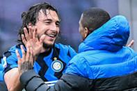 Matteo Darmian's goal against Cagliari gave Serie A leaders Inter their 11th straight win