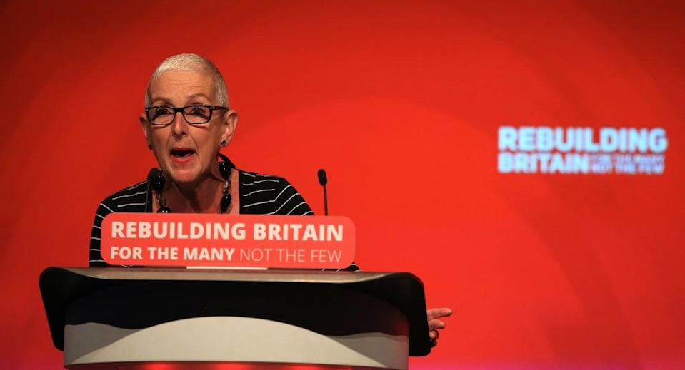 Gail Cartmail from Unite the Union (Peter Byrne/PA) (PA Archive)