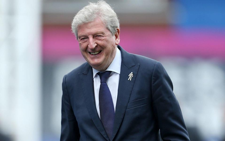 Roy Hodgson and his men welcome Aston Villa for a noon kick off this Sunday - PA
