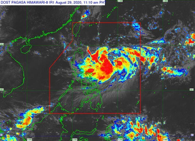 'Julian' continues to intensify, but won't affect Metro Cebu